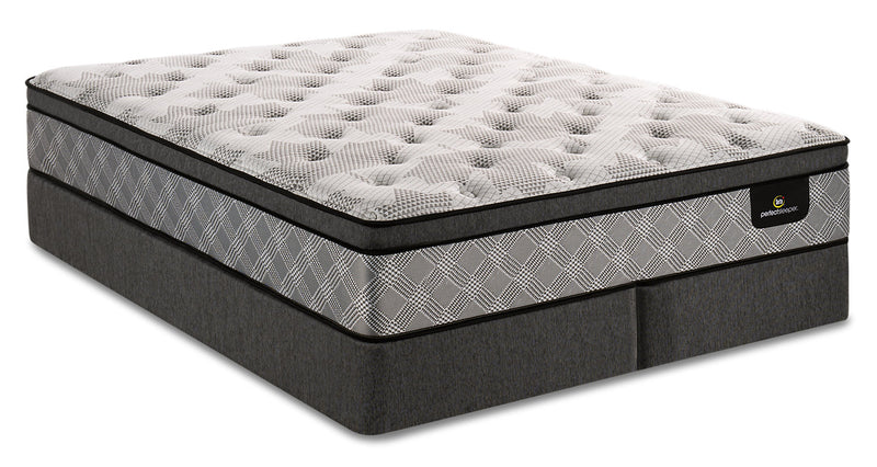 Serta Perfect Sleeper Canada's Anniversary Strong Eurotop Split Queen Mattress Set|Ensemble à Euro-plateau divisé Strong Canada's Anniversary Perfect SleeperMD de Serta pour grand lit