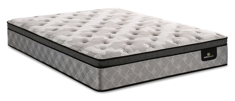 Serta Perfect Sleeper Canada's Anniversary Strong Eurotop King Mattress|Matelas à Euro-plateau Strong Canada's Anniversary Perfect SleeperMD de Serta pour très grand lit