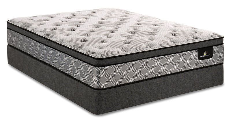 Serta Perfect Sleeper Canada's Anniversary Strong Eurotop Queen Mattress Set|Ensemble matelas à Euro-plateau Strong Canada's Anniversary Perfect SleeperMD Serta pour grand lit