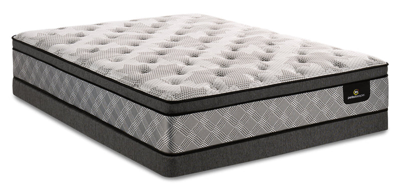 Serta Perfect Sleeper Canada's Anniversary Strong Eurotop Low-Profile Full Mattress Set|Ensemble Euro-plateau profil bas Strong Canada's Anniversary Perfect SleeperMD Serta pour lit double