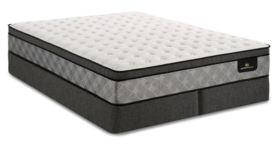 Serta Perfect Sleeper Canada's Anniversary True Eurotop Split Queen Mattress Set|Ensemble à Euro-plateau divisé True Canada's Anniversary Perfect SleeperMD de Serta pour grand lit|PSTRUSQP