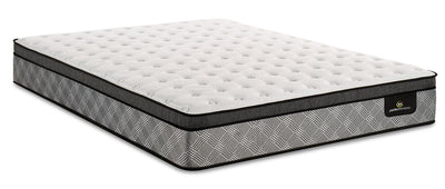 Serta Perfect Sleeper Canada's Anniversary True Eurotop Queen Mattress|Matelas à Euro-plateau True Canada's Anniversary Perfect SleeperMD de Serta pour grand lit|PSTRUEQM