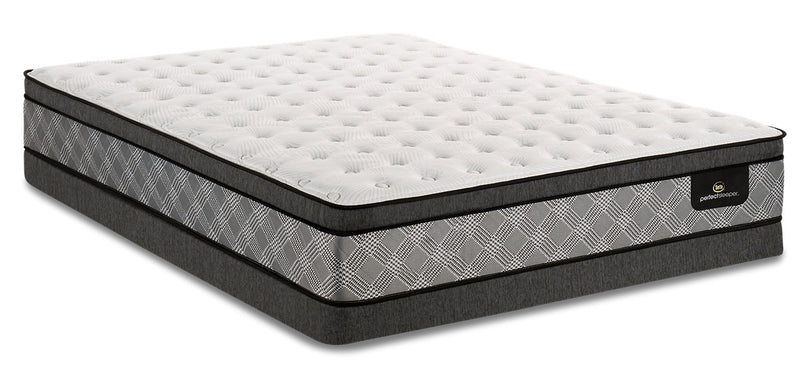 Serta Perfect Sleeper Canada's Anniversary True Eurotop Low-Profile Full Mattress Set|Ensemble Euro-plateau profil bas True Canada's Anniversary Perfect SleeperMD Serta pour lit double