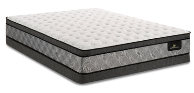 Serta Perfect Sleeper Canada's Anniversary True Eurotop Low-Profile Full Mattress Set|Ensemble Euro-plateau profil bas True Canada's Anniversary Perfect SleeperMD Serta pour lit double|PSTRULFP