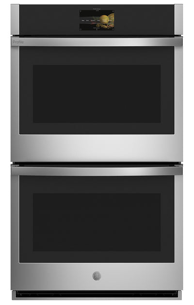 "GE Profile™ 30"" Smart Built-In Convection Double Wall Oven - PTD7000SNSS
