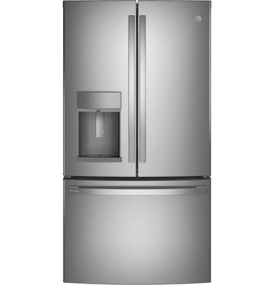 GE Profile 22.1 Cu. Ft. Door-in-Door French-Door Refrigerator - PYD22KYNFS - Refrigerator in Fingerprint Resistant Stainless Steel
