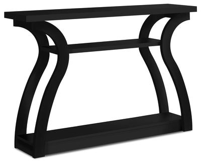Quinn Sofa Table - Black|Table de salon Quinn - noire|QUIBKSTB