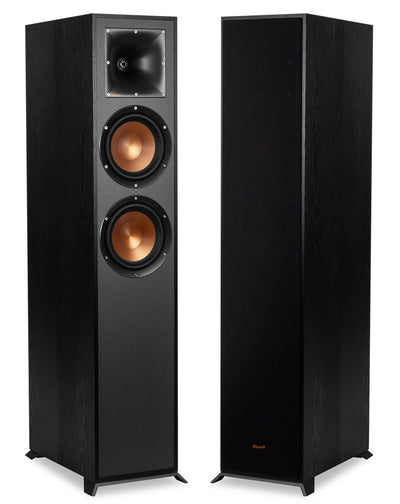 Klipsch® R-620F 100W Tower Speakers, Set of 2|Ensemble de 2 haut-parleurs colonne Klipsch - R-620F|R24FPAIR