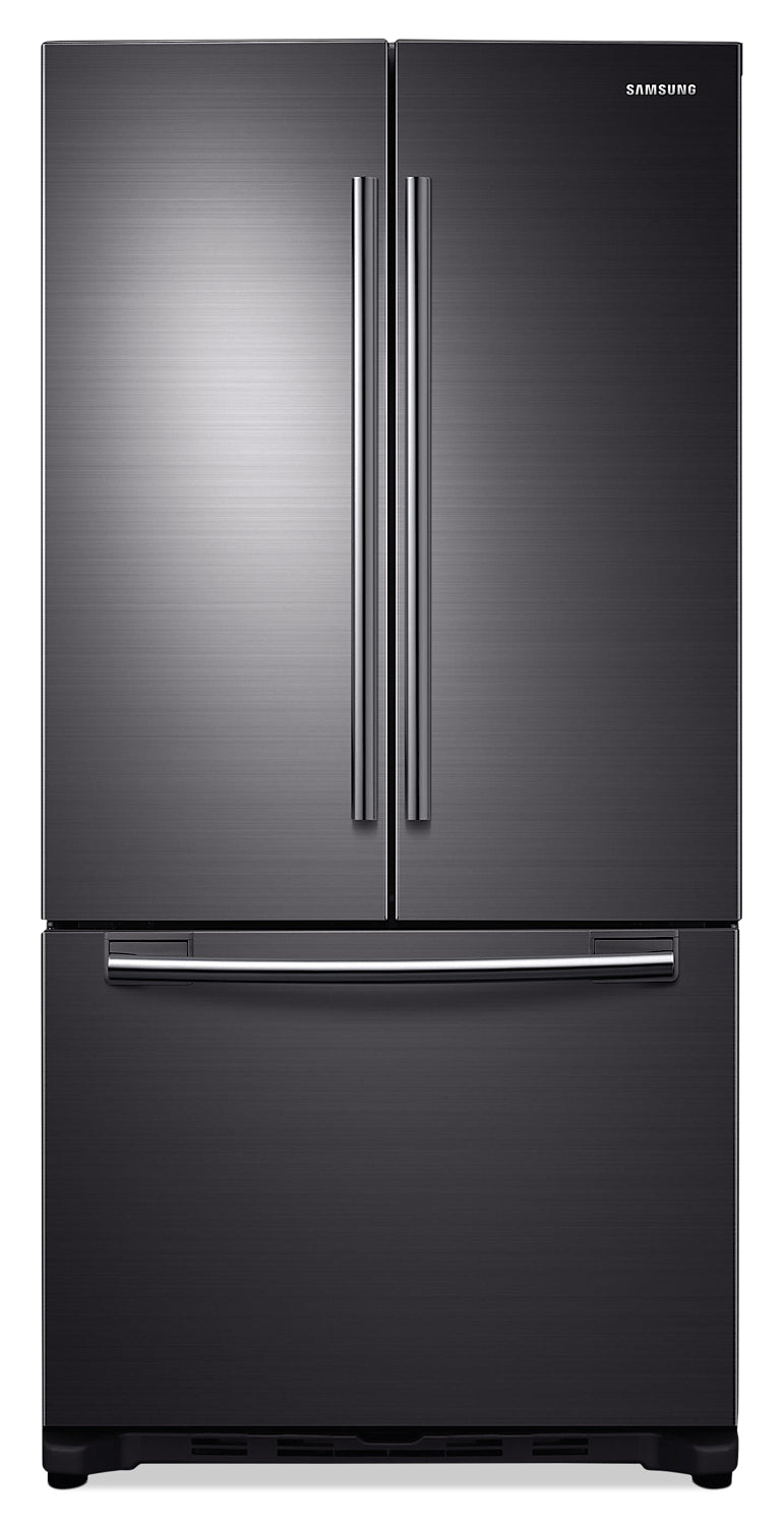 Samsung 33 175 Cu Ft Counter Depth French Door Refrigerator R