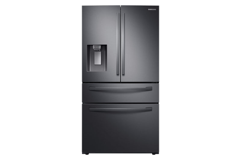 Samsung 28 Cu. Ft. 4-Door French-Door Refrigerator with Twin Cooling Plus - RF28R7201SG/AA - Refrigerator in Black Stainless Steel