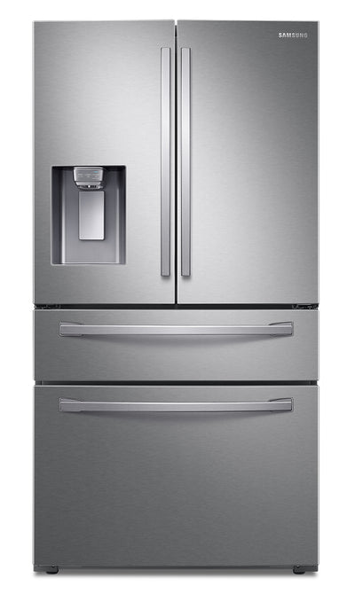 Samsung 28 Cu. Ft. 4-Door French-Door Refrigerator with Twin Cooling Plus - RF28R7201SR/AA - Refrigerator in Stainless Steel