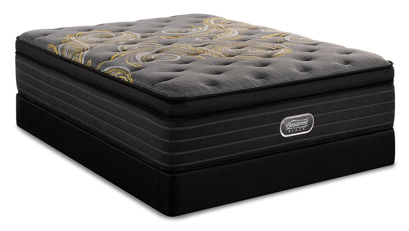 Beautyrest Black Republic Ultra Eurotop Queen Mattress Set|Ensemble matelas à Euro-plateau épais Republic Beautyrest BlackMD pour grand lit|RPBLICQP