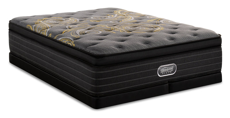 Beautyrest Black Republic Ultra Eurotop Low-Profile King Mattress Set|Ensemble matelas à Euro-plateau épais à profil bas Rpublic Beautyrest BlackMD pour très grand lit