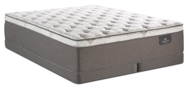 Serta Perfect Sleeper iCollection Sahar Eurotop Low-Profile King Mattress Set|Ensemble à Euro-plateau à profil bas Sahar iCollectionMD Perfect SleeperMD Serta pour très grand lit|SAHRPLKP