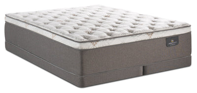 Serta Perfect Sleeper iCollection Sahar Eurotop Low-Profile Split Queen Mattress Set|Ensemble à Euro-plateau divisé profil bas Sahar iCollectionMD Perfect SleeperMD Serta pour grand lit|SAHRLSQP