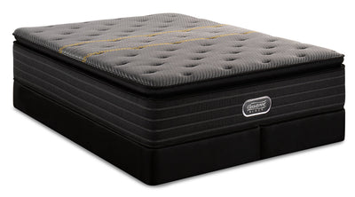 Beautyrest Black Substance Hi-Loft Pillowtop Split Queen Mattress Set|Ensemble matelas à plateau-coussin épais divisé Substance Beautyrest BlackMD pour grand lit|SBSTNSQP