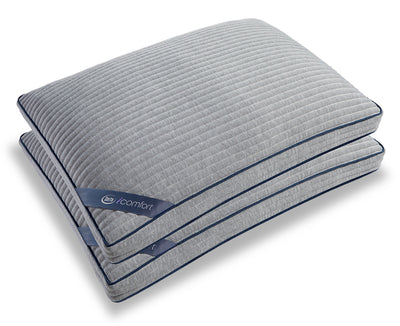 Serta iComfort Scrunch 4.0 2-Piece Pillow Set