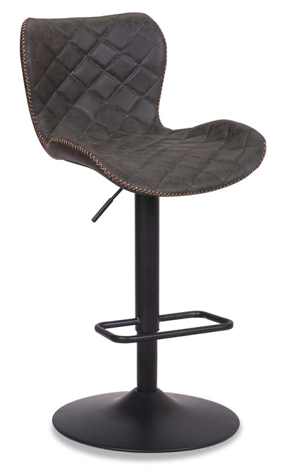 Seth Bar Stool - Grey|Tabouret bar Seth - gris|SETHGBST
