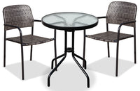 Sindal 3-Piece Outdoor Bistro Set