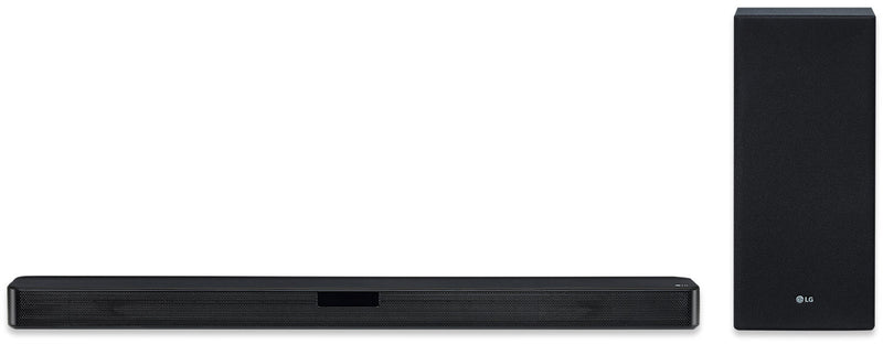LG SL5Y 2.1 Channel 400 W Soundbar with DTS Virtual:X - SL5Y.DCANLLK|Barre de son de 400 W à 2.1. canaux LG SL5Y avec technologie DTS Virtual:X - SL5Y.DCANLLK