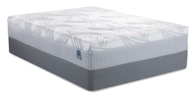 Scott Living by Restonic Low-Profile King Mattress-in-a-Box Set|Ensemble matelas à profil bas Scott Living by Restonic pour très grand lit|SLHYBLKP