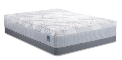 Scott Living Queen Mattress-in-a-Box with Low-Profile Boxspring|Matelas Scott Living dans une boîte pour grand lit avec sommier à profil bas|SLHYBLQP