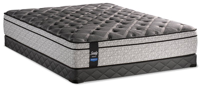 Sealy Posturepedic Proback Silversea Eurotop Low-Profile Queen Mattress Set|Ensemble matelas à Euro-plateau profil bas Silversea PosturepedicMD PROBACKMD Sealy pour grand lit|SLVSELQP