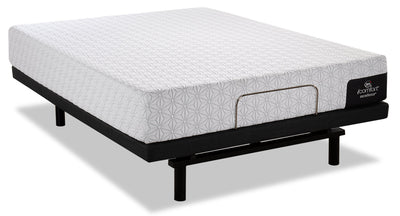 Serta iComfort Excellence Supremacy Queen Mattress with Motion Essentials IV Adjustable Base|Matelas Supremacy iComfortMD Excellence Serta pour grand lit et base ajustable Motion Essentials IV|SME4ADQP