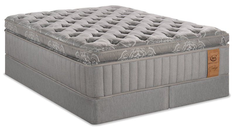 Serta Perfect Sleeper Vintage Sonoma Super Pillowtop King Mattress Set|Ensemble matelas à plateau-coussin épais Sonoma Vintage Perfect SleeperMD Serta pour très grand lit