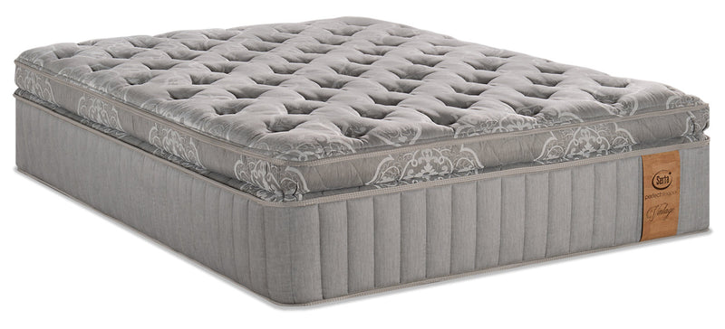 Serta Perfect Sleeper Vintage Sonoma Super Pillowtop Queen Mattress|Matelas à plateau-coussin épais Sonoma Vintage Perfect SleeperMD de Serta pour grand lit