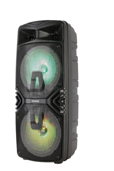 Curtis International Ltd Bluetooth Speaker - Sylvania Karaoke Light-Up Bluetooth Speaker - SP782