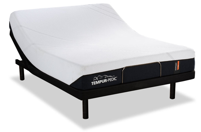 Tempur-Pedic Support Firm Queen Mattress with Reflexion® by Sealy Boost Adjustable Base|Matelas Support Firm Tempur-PedicMD pour grand lit avec base ajustable Reflexion by Sealy Boost
