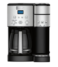 Cuisinart Coffee Center™ 12-Cup Coffeemaker and Single-Serve Brewer - SS-15C|Cafetière Centre de caféMC Cuisinart de 12 tasses et infuseur 1 tasse - SS-15C