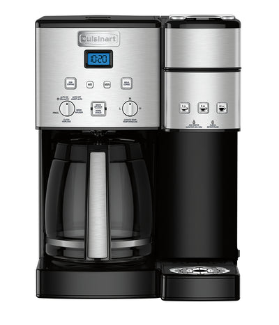 Cuisinart Coffee Center™ 12-Cup Coffeemaker and Single-Serve Brewer - SS-15C - Coffee Maker in Stainless Steel