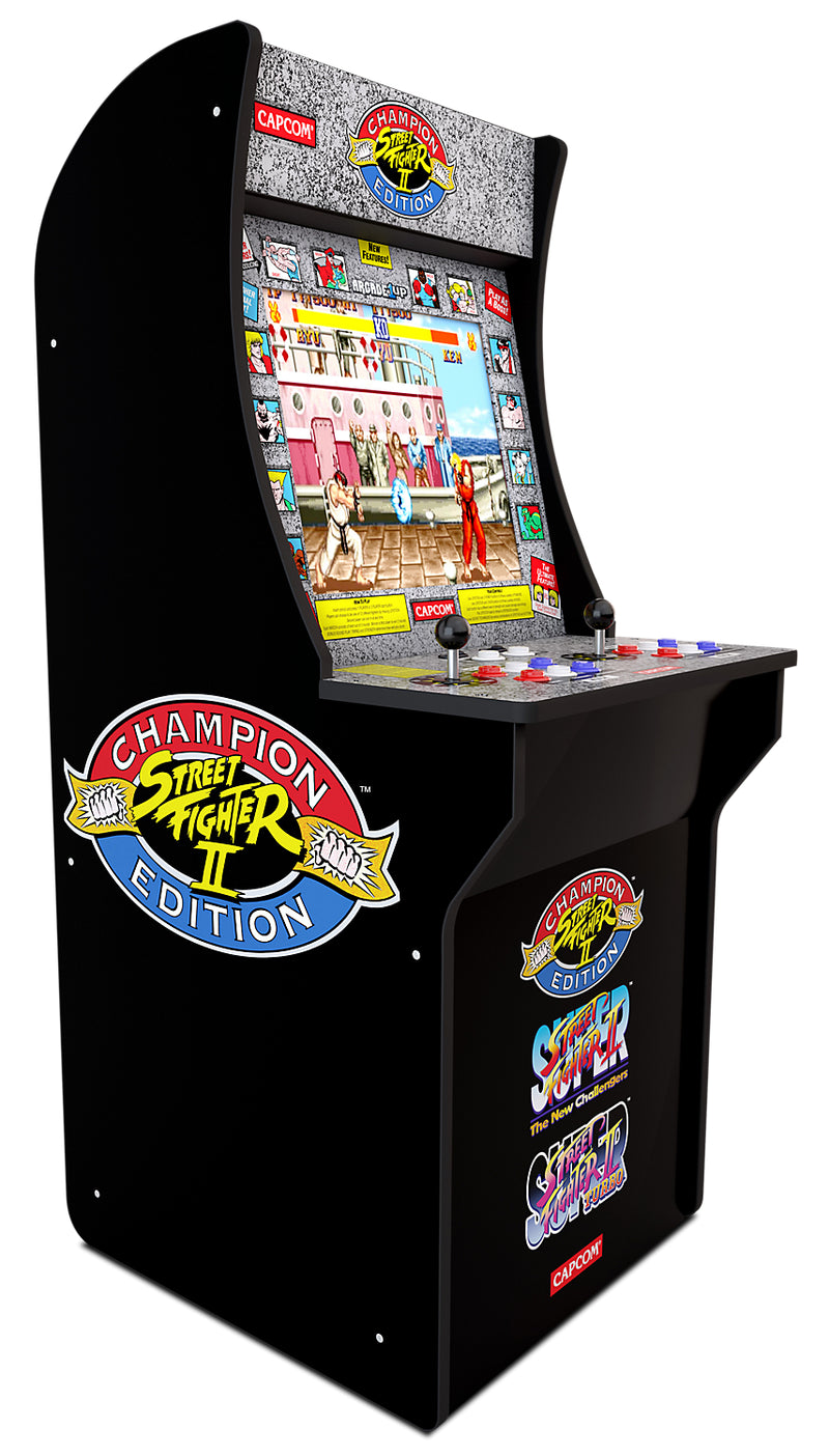 Arcade1Up Arcade Cabinet - Arcade1Up Street Fighter™ Arcade Cabinet Without Riser