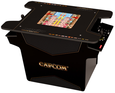 Arcade1Up Arcade Cabinet - Arcade1Up Street Fighter II™ Head-to-Head Arcade Table