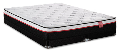 Springwall True North Superior Eurotop Split Low-Profile Queen Mattress Set|Ensemble matelas à Euro-plateau divisé à profil bas True North Superior de Springwall pour grand lit|SUPELSQP