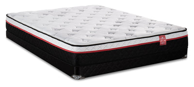 Springwall True North Superior Eurotop Low-Profile Full Mattress Set|Ensemble matelas à Euro-plateau à profil bas True North Superior de Springwall pour lit double|SUPERLFP
