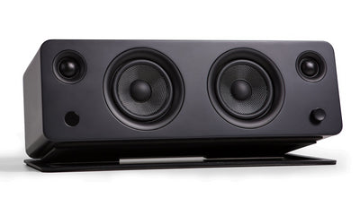 Kanto SYD Powered Speaker with Bluetooth® and Phono Preamp - Matte Off-Black|Haut-parleur SYD de Kanto Living avec Bluetooth - noir mat|SYDBTBLK