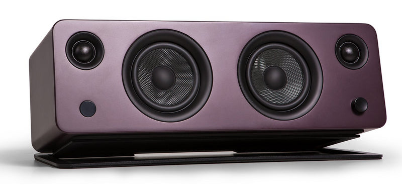 Kanto SYD Powered Speaker with Bluetooth® and Phono Preamp - Matte Burgundy|Haut-parleur SYD de Kanto Living avec Bluetooth - bourgogne mat|SYDBTBRG