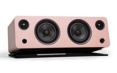 Kanto SYD Powered Speaker with Bluetooth® and Phono Preamp - Matte Pink|Haut-parleur SYD de Kanto Living avec Bluetooth - rose mat|SYDBTPNK