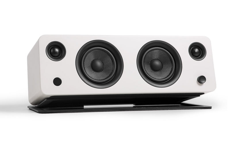 Kanto SYD Powered Speaker with Bluetooth® and Phono Preamp - Matte Off-White|Haut-parleur SYD de Kanto Living avec Bluetooth - blanc cassé mat|SYDBTWHT