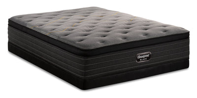 Beautyrest Black Technique Eurotop Low-Profile Queen Mattress Set|Ensemble matelas à Euro-plateau à profil bas Technique Beautyrest BlackMD pour grand lit|TECHNLQP