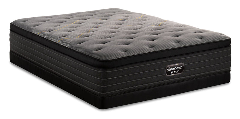 Beautyrest Black Technique Eurotop Low-Profile Queen Mattress Set|Ensemble matelas à Euro-plateau à profil bas Technique Beautyrest BlackMD pour grand lit