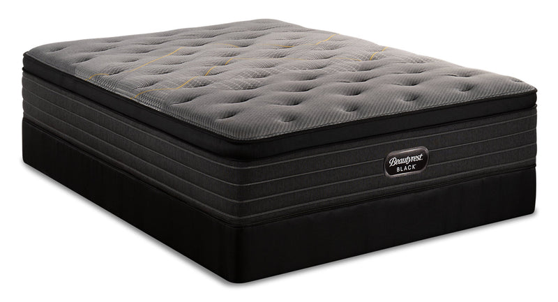 Beautyrest Black Technique Eurotop Queen Mattress Set|Ensemble matelas à Euro-plateau Technique Beautyrest BlackMD pour grand lit|TECHNQQP