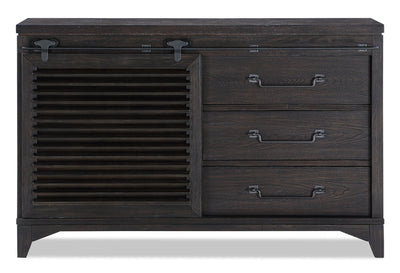 Theo Dresser - Charcoal|Commode Theo - anthracite|THEOB3DR