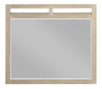 Theo Mirror - Dovetail Grey - {Modern} style Mirror in Dovetail Grey {Poplar}, {Oak}