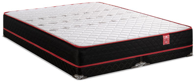 Springwall True North Erie Low-Profile Split Queen Mattress Set|Ensemble matelas divisé à profil bas True North Erie de Springwall pour grand lit|TNERLSQP