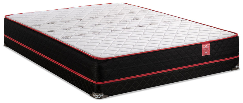 Springwall True North Erie Low-Profile Full Mattress Set|Ensemble matelas à profil bas True North Erie de Springwall pour lit double|TNERILFP