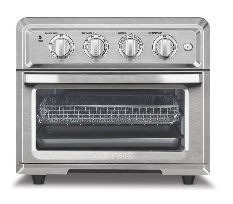 Cuisinart 0.6 Cu. Ft. AirFryer Convection Toaster Oven - TOA-60C - Convection Toaster Oven in Stainless Steel